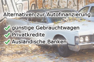 Alternative Autofinanzierung