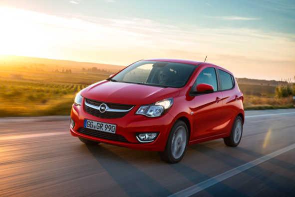 Opel Karl LPG 2016