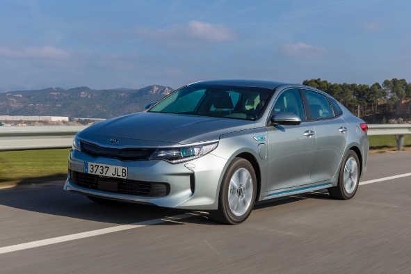 Kia Optima Plug-in-Hybrid 2016
