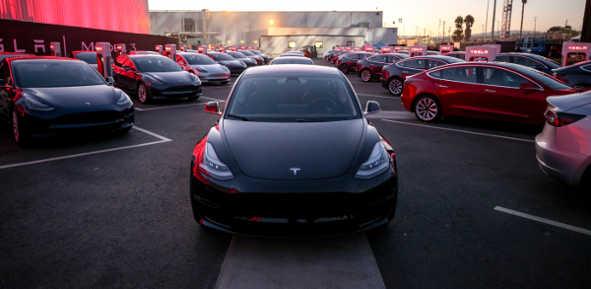 Tesla Model 3 Serie 2017