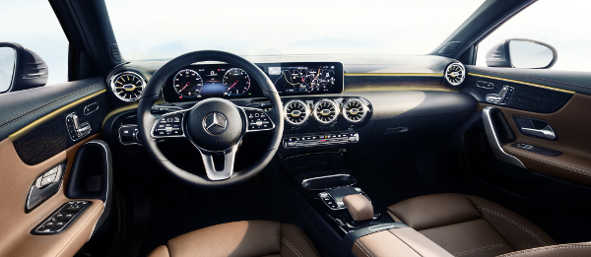 Mercedes A-Klasse 2018 Interieur