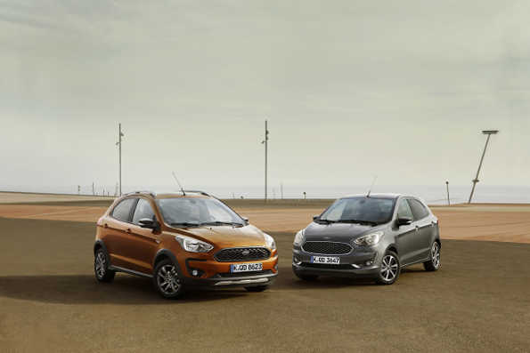 Ford Ka+ 2018 Facelift und Ford Ka+ Active